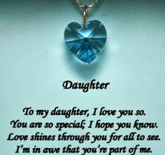 inspirational quotes for adopted children | daughter poems from a mother | kootation.blogspot.com