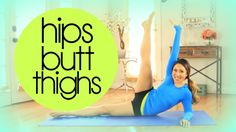 Hips Butt n' Thighs Super Shaper Workout   POP Pilates... was sick last week but now im back in the game. Day 3.