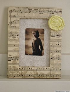 sheet music craft project ideas | Inventive Sheet Music Crafts That Will Add Harmony To Any Home ...