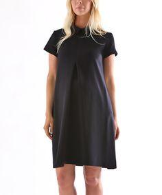 Another great find on #zulily! Dark Blue Amber Dress by Madeleine Maternity #zulilyfinds