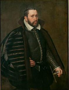A Man in Spanish Costume, 1568 (Adriaen Thomas Key) (1544-1589)    Kunsthistorisches Museum, Wien GG_1034
