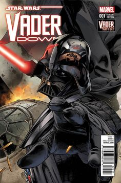 COMICS: STAR WARS: VADER DOWN #1; Marvel Unleashes First Look At Epic Crossover