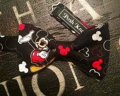 Mickey Mouse Bow Tie Birthday Outfit Disney by GodsGirlsBowtique