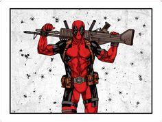 #Deadpool #Fan #Art. (Deadpool) By: StudioNOSAJ. ÅWESOMENESS!!!™ ÅÅÅ+