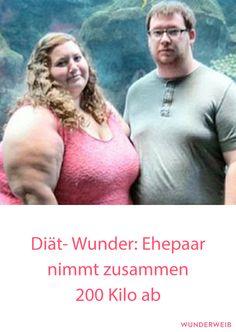 Diät-Hammer: Par nimmt gemeinsam 200 Kilo ab #diät #abnehmen