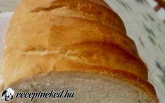 Hűtőben kelt házi kenyér recept Vass Laszlone konyhájából - Receptneked.hu Bread, Food, Brot, Essen, Baking, Meals, Breads, Buns, Yemek