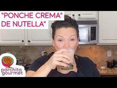 PoncheCrema de NUTELLA... SI: NUTELLA - YouTube Venezuelan Food, Nutella, Recipes, Gourmet, Rezepte, Recipe, Cooking Recipes
