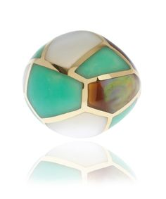 Ippolita Gold Rock Candy Dome Mosaic Ring | Jewellery by Ippolita | Liberty.co.uk