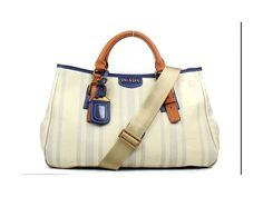Prada 8831 White Top Handles   $248.50