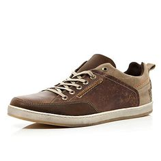 7a0cc6ae Men's two tone trainers #riverisland Мужская Обувь, Высокие Кроссовки,  Полусапожки, Модная Мужская