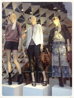 Topshop Shop Window - Spring 2014