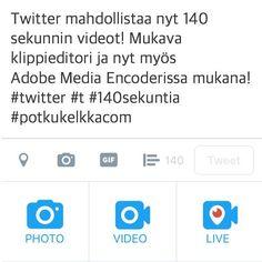 Tämä on kiva! 140 sekunnin videot mahdollisia Twitterissä! #t #fb #potkukelkkacom #potkari