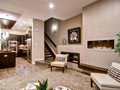 Contemporary Living-rooms from Wonderland Homes on HGTV