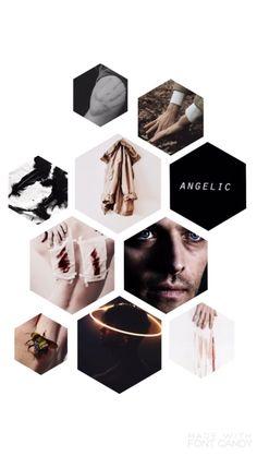 Castiel iPhone Wallpaper (supernatural)