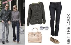 Get Kate Bosworth's look on miinto now!  Nice Things Leaf Print Blouse: http://www.miinto.co.uk/p-17755-nice-things-leaf-print-blouse  Joe's Jeans Muse Bootcut Fit Jeans: http://www.miinto.co.uk/p-22240-the-muse-bootcut-fit  Melissa Virtue Special Shoe: http://www.miinto.co.uk/p-17161-virtue-special-shoe-tan-flock  Michael Kors Hamilton Bag: http://www.miinto.co.uk/p-28182-michael-kors-hamilton  Todds Sunglasses: http://www.miinto.co.uk/p-806-todds-sunglasses