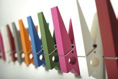 Wall-mounted coat rack / contemporary PINCE ALORS ! Swabdesign