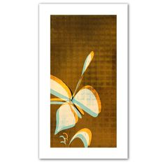 ArtWall Art Appealz Citron Petals Removable Wall Art Graphic by Jan Weiss 14 by 14-Inch