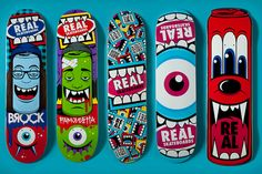 Greg Mike x Real Skateboards CAPSULE COLLECTION