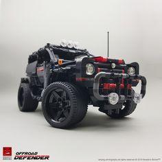 Defender — BrickNerd - Your place for all things LEGO and the LEGO fan community S Brick, Lego Builder, Cute Pikachu, Building Systems, Lego Models, Lego Technic, 4x4 Trucks, Lego Creations, Legos