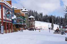 Silver Star Ski Resort, Vernon BC a full all seasons resort. Oh The Places You'll Go, Cool Places To Visit, Places To Travel, Places Ive Been, Beaver Creek Ski, Vernon Bc, Victoria British Columbia, Vancouver City, Mountain Resort