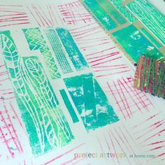 Collagraphs and Stri
