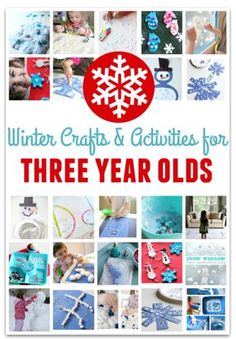 Seasonal Activities of the Week: Winter Crafts Collection!- pinned by @PediaStaff – Please Visit  ht.ly/63sNt for all our pediatric therapy pins