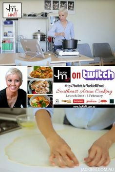 Jackie M on Twitch.tv - Jackie M Malaysian Food, Malaysian Recipes, Asian Kitchen, Twitch Tv, Asian Cooking, Learn To Cook, My Recipes, Product Launch, Dishes