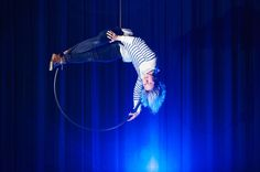 Ilma-akrobaatti Ilona Jäntti on luontainen pyörijä.