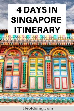 Traveling to Singapore? This 4 days in Singapore itinerary covers best things to… Traveling to Singapore? This 4 days in Singapore itinerary covers best things to do in Singapore and other helpful Singapore travel tips. Best places to visit in Singapore Singapore Things To Do, Singapore Travel Tips, Singapore Itinerary, Visit Singapore, Greece Itinerary, China Travel, India Travel, Travel Nepal, Singapore Attractions