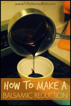 Making your own balsamic reduction is quick, easy and kind of life-changing. (Especially on Brussels sprouts!)