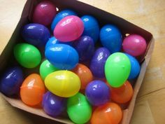 Easter egg games for babies and toddlers | BabyCentre Blog ♥ GOOD ideas for Toryn this year as he will only be 3 months!