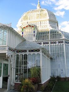 Conservatory of Flowers in Golden Gate Park, San Francisco