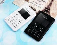 Handphone Unik Ultra Slim Design Mini Size Kartu ATM