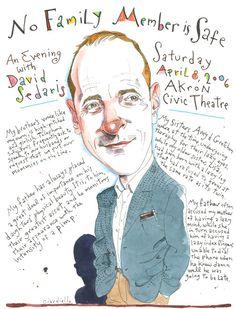 David Sedaris by Joe Ciardiello