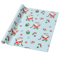 Shop Baseball Christmas gift Wrapping Paper created by SoLoveTheWorld. Personalize it with photos & text or purchase as is! Xmas Wrapping Paper, Custom Wrapping Paper, Christmas Gift Wrapping, Christmas Gifts, Wrapping Presents, Santa Gifts, Wrapping Ideas, Christmas Sale, Christmas Stationery