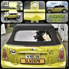 Mr. Bean tribute Mini Cooper