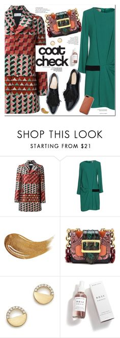 """""""In Control"""" by fee4fashion on Polyvore featuring RED Valentino, KI6? Who Are You?, Too Faced Cosmetics, Burberry, Bloomingdale's and Herbivore"""