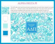 Lilly Pulitzer Alpha Delta Pi