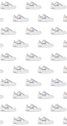 Nike Sneaker Pattern ★ Find more epic #iPhone + #Android #Wallpapers and…