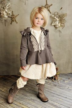 Persnickety Grey Victoria Jacket Preorder Matching Skirt, Leg Warmers, Top, Headband & Hat Available! 12 Months to 12 Years - Infant Girls Clothing - Cassie's Closet