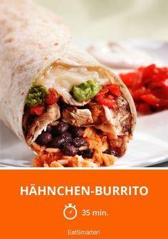 Hähnchen-Burrito - smarter - Zeit: 35 Min.   eatsmarter.de