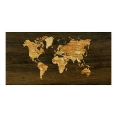 Wooden World Map Print World Map Puzzle e3536f3748a81