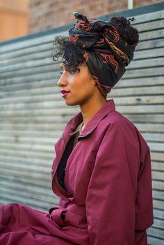 African headwrap FashionDRA