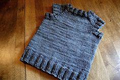 adorable toddler vest. #knits #kids #toddlers