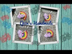 How to crochet cloud and rainbow part 2/2 - HD móc treo chìa khóa đám mâ...