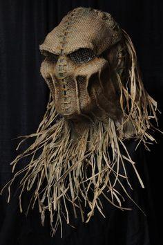 Scarecrow Mask, Halloween Scarecrow, Halloween House, Scary Scarecrow Costume, Halloween Party, Ghost Costumes, Scary Halloween Costumes, Halloween Makeup, Halloween Stuff