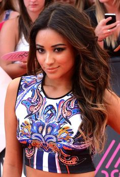 Obsessed with Shay Mitchell and her highlights