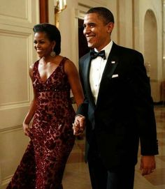 President Obama and First Lady Michelle Obama                              …