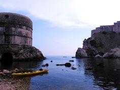 West Harbour in Dubrovnik