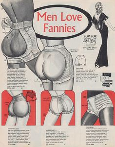Men Love Fannies Page 36 of a 1973 Frederick's of Hollywood catalog (did Pippa wear this...?)